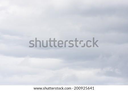 Abstract light gray overcast sky