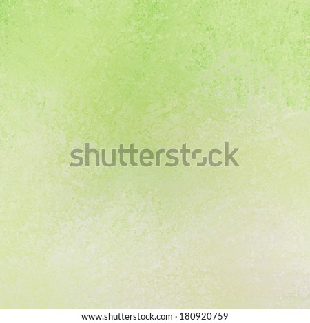 abstract light green background texture and white sponge grunge design