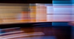 Abstract light motion background. Motion blur photography.