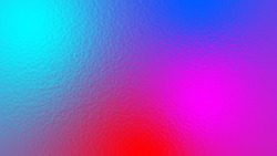 Abstract light neon soft glass background texture in pastel colorful gradient.