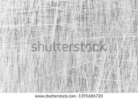 abstract light scratch background / white scratch damage, industrial wall material #1395686720
