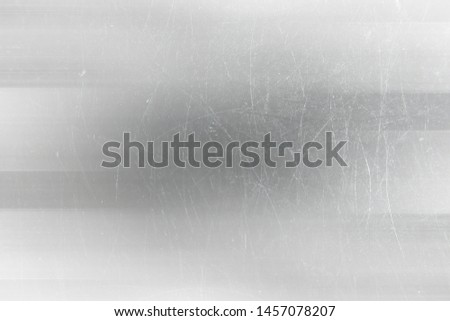 abstract light scratch background / white scratch damage, industrial wall material #1457078207