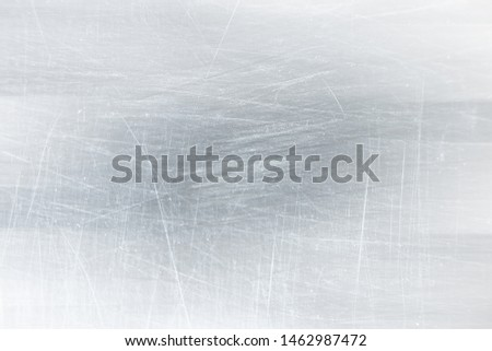 abstract light scratch background / white scratch damage, industrial wall material #1462987472