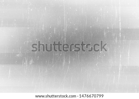 abstract light scratch background / white scratch damage, industrial wall material #1476670799