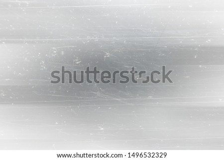 abstract light scratch background / white scratch damage, industrial wall material #1496532329