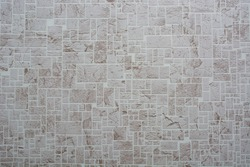 Abstract light texture of pastel colors wallpaper with picture of vintage stonework