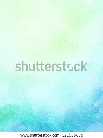 Abstract light watercolor background