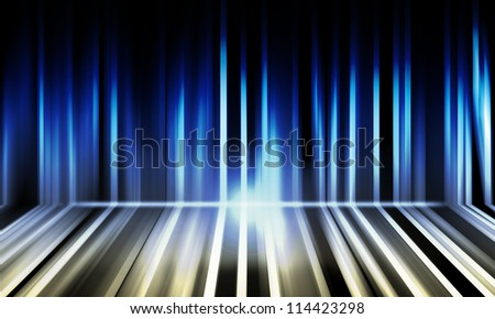 abstract lights blue background