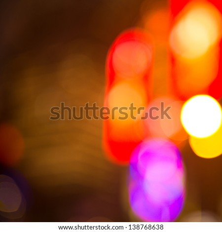 abstract lights, blurred abstract pattern.