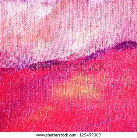 abstract lilac painting by oil on canvas, illustration, background