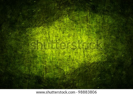 abstract lime grunge metal texture background