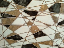 abstract line design pattern of digital wall tile with rough texture.