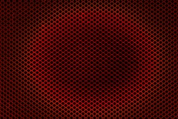 Abstract lines and metal mesh background
