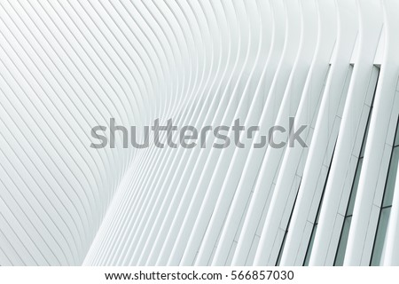 Abstract lines on architecture #2 - Shutterstock ID 566857030