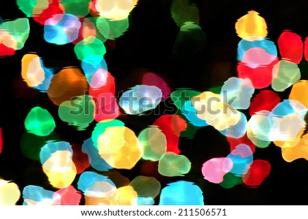Abstract liquid background with colorful lights