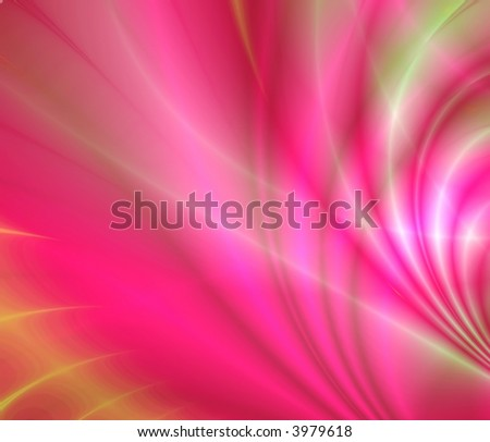 abstract luminescence of red and purple color is creating smooth waves