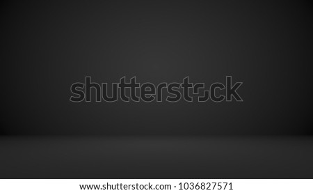 Abstract luxury black gradient with border vignette background S - Shutterstock ID 1036827571