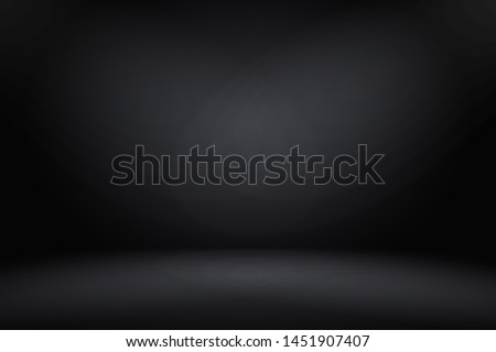 Abstract luxury blur dark grey and black gradient, used as background studio wall for display your products.