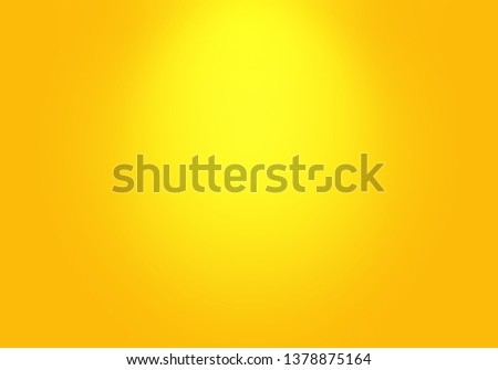 Abstract Luxury Gold yellow gradient studio wall, well use as background,layout,banner and product presentation. #1378875164