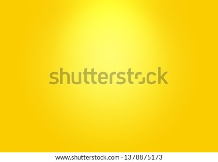 Abstract Luxury Gold yellow gradient studio wall, well use as background,layout,banner and product presentation. #1378875173