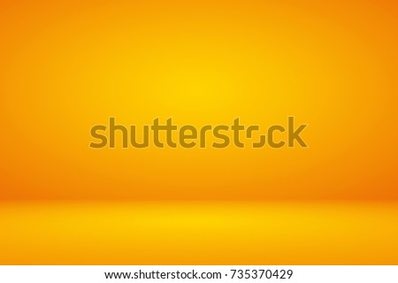 Abstract luxury mix yellow orange amber gradient background for display product ad
