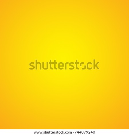 Abstract luxury vintage orange gradient background look like sun and empty studio room for display product ad website template  #744079240