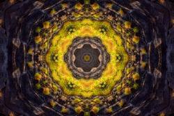 Abstract mandala pattern - seamless texture