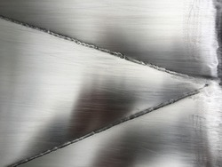 Abstract metal background, welding construction.