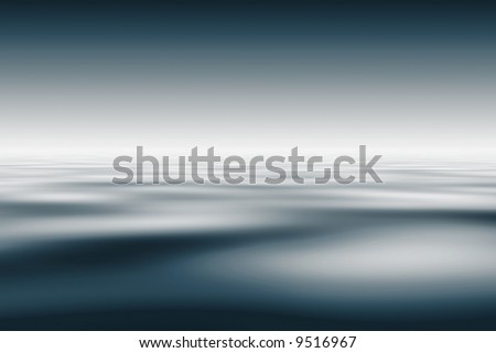 Abstract metallic water background