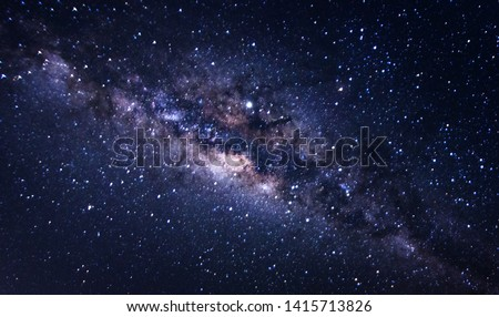 Abstract Milky Way galaxy for background purpose.