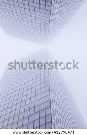 abstract modern architecture  #412990471