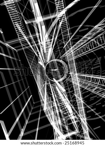 abstract modern background - Shutterstock ID 25168945