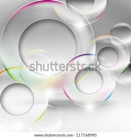 abstract modern background with circles