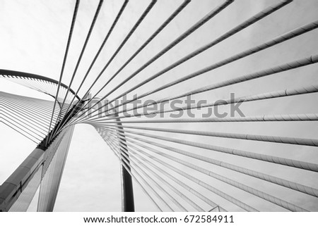 Abstract Modern Bridge Architecture