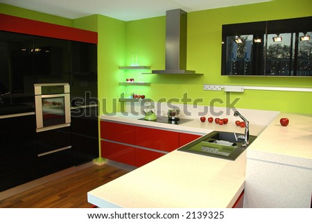 Abstract modern Kitchen
