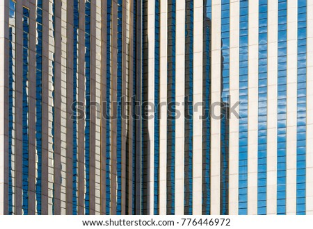 abstract modern office building detail, glass surface ,background #776446972