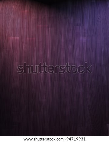 abstract modern purple background with smeary streaks of color and texture and soft faded lighting from top corner of frame and dark black vignette vintage grunge shading around border with copy space