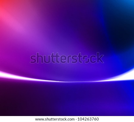 Abstract modern space gallery background - stock photo