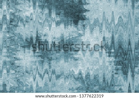Abstract monochrome texture in the form of a zigzag and triangles. #1377622319