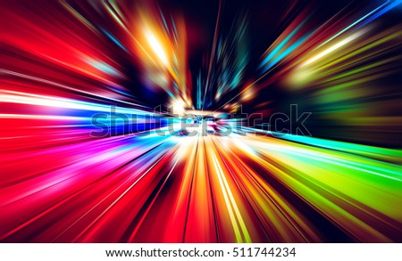 Abstract motion blur background #511744234