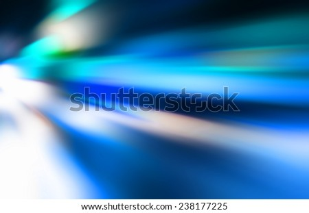 Abstract motion blur of traffic night