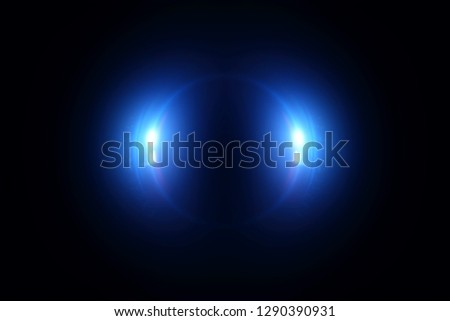 Abstract multi-colored bright background for design. Light Eferk. Glowing circle. Brilliant flashes. Fantastic lens. Holographic image. Energy ring. Raster image. Round frame. Artificial pupil. #1290390931