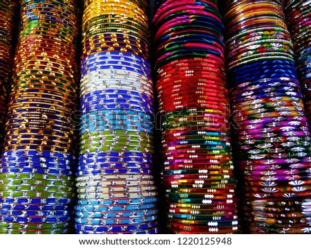 Colorful Indian bangles Images and Stock Photos - Page: 3