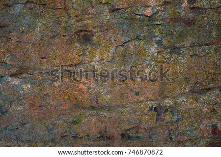 Abstract multicolor grunge background with abstract colored texture. Various color pattern elements. Old  vintage scratches, stain, paint splats, brush strokes, dots, spots. Weathered wall backdrop #746870872