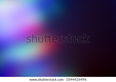Photo of  Abstract multicolor leak  shine background for overlay. Light leaks collection