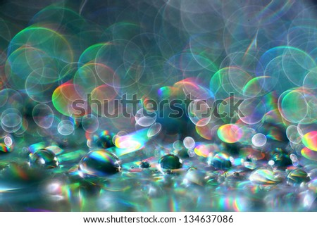 abstract multicolored texture blur bokeh