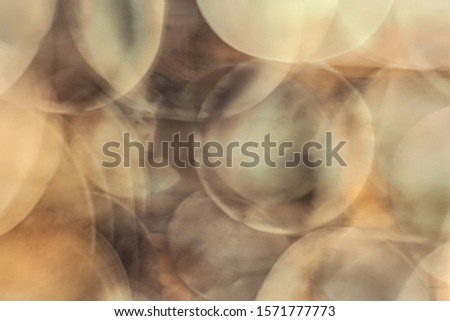 Abstract multiple exposure  of clay bowls with camera movement