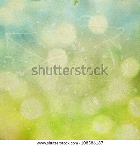 abstract natural defocused background, grunge vintage paper texture