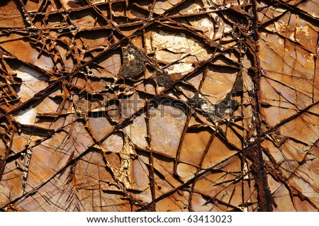 abstract natural texture cracked rock. Good natural background