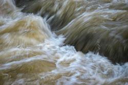abstract nature background wild turbid water rapids